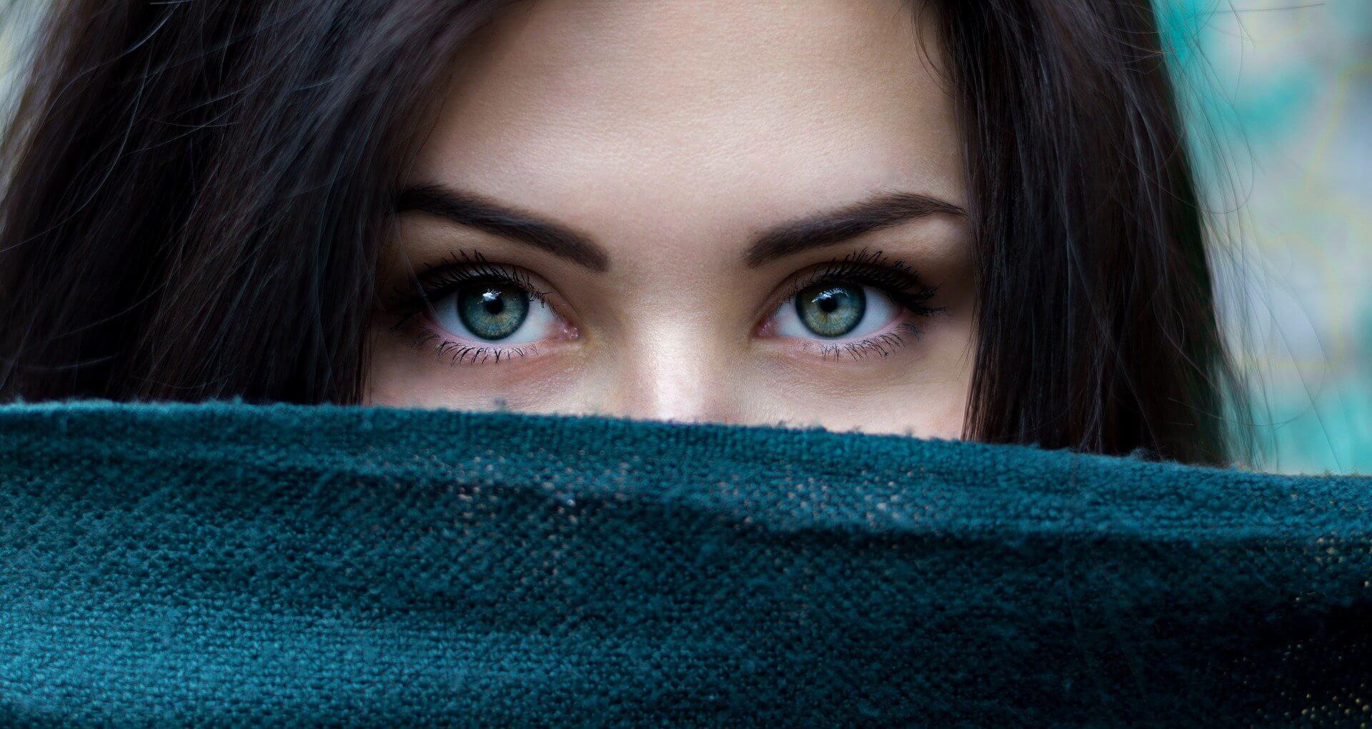 Girl beautiful eyes