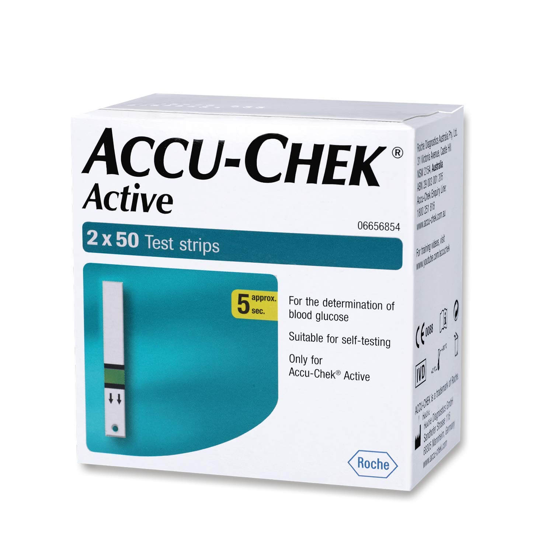 Accu Check Strips