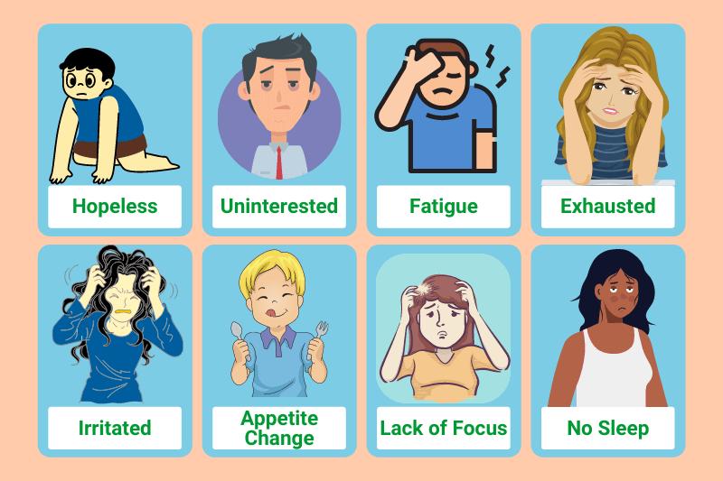 8 Symptoms of Depression